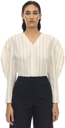 pushBUTTON Striped Cotton Shirt