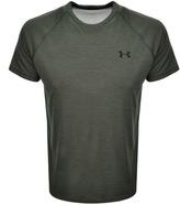 Under Armour Tech Short Sleeved T Shirt Khaki