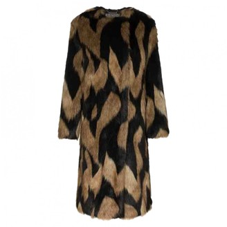 Givenchy Brown Faux fur Coat for Women