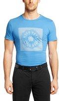 HUGO BOSS Mens Short Sleeve Pure-cotton T-shirt 'Tee 2' By Boss Green (S)