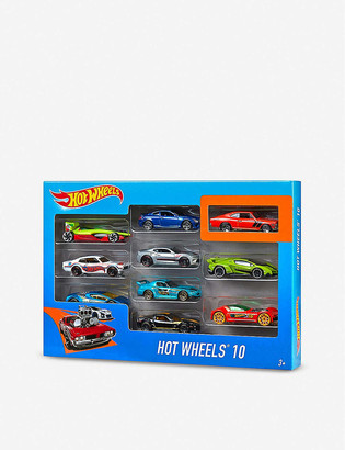Hot Wheels 10 Pack Model Cars
