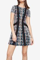 BCBGMAXAZRIA Aleah Paisley Dress