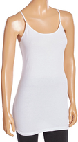 Pure Style Girlfriends White Scoop Neck Camisole