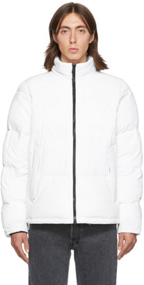 The Very Warm SSENSE Exclusive White Quilted Bomber Jacket