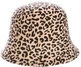 Bonpoint Leopard Felt Hat w/ Tags