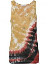 Faith Connexion tie-dye tank top