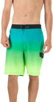 Speedo Men's Engineered Stretch Ombre E-Board Shorts