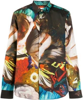 Paul Smith Regular-Fit Abstract Print Shirt
