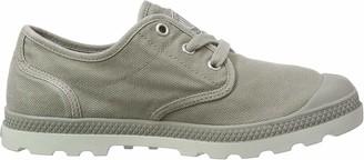 Palladium Womens Pampa Oxford LP Low-Top Sneakers Grey Size: 3.5