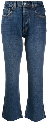 Boyish Darcy mid-rise flared jeans