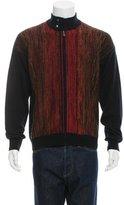 Bottega Veneta Cashmere Zip-Up Sweater