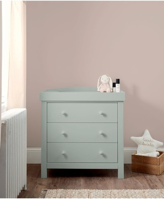 Mamas and Papas Dover Cot Bed, Dresser and Wardrobe