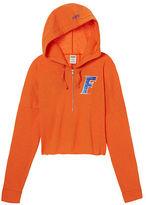 PINK University of Florida Varsity Cropped Half-Zip Hoodie