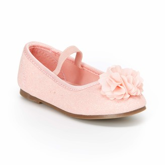 Carter's Girls' Calista Glitter Flower Ballet Flat