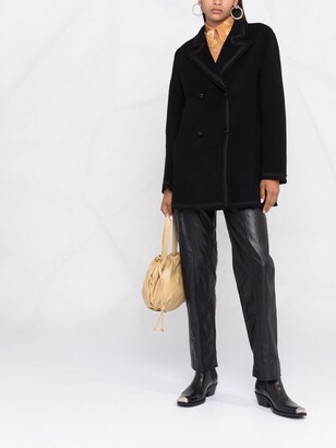 P.A.R.O.S.H. Double-Breasted Wool Coat