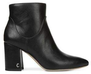 Sam Edelman Hadden Faux Leather Heeled Booties