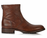 Belstaff Attwell waxed leather boots