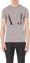 Armani Jeans Logo-print cotton-blend t-shirt