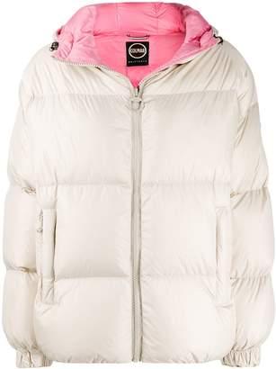 Colmar loose-fit hooded puffer jacket