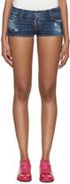 DSQUARED2 Indigo Denim California Shorts