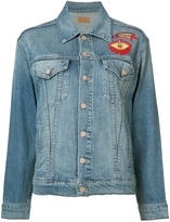 Mother Embroidered Denim Jacket