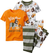 Carter's Print 4-pc. Pajama Set - Baby Boys newborn-24m