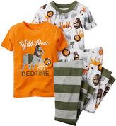 Carter's Print 4-pc. Pajama Set - Baby Boys newborn-24m