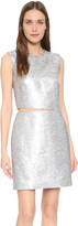 Kaufman Franco KAUFMANFRANCO Liquid Sequin Cocktail Dress