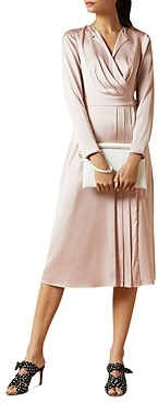 Ted Baker Neenha Pleated Wrap Dress