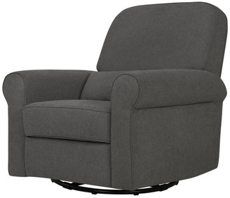 DaVinci Ruby Recliner And Glider, Dark Gray