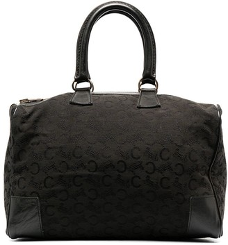 Céline Pre-Owned Pre-Owned Patterned Jacquard Tote Bag