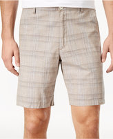 Tasso Elba Men's Space-Dyed Plaid Shorts, Only at Macy's