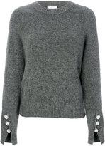 3.1 Phillip Lim long-sleeve pullover - women - Polyamide/Spandex/Elastane/Wool/Yak - S