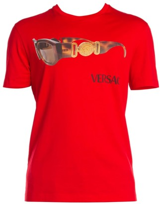 Versace Sunglasses Cotton T-Shirt