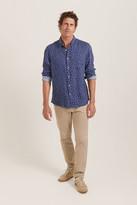 Sportscraft Bob Long Sleeve Linen Shirt