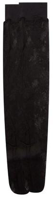 Wolford Katharina Lace Knee-high Socks - Womens - Black