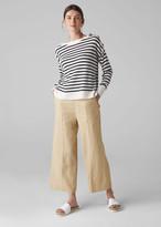 Linen Crop Wide Leg