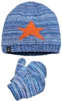 Cuddl Duds Toddler Boy Star Beanie & Mittens Set