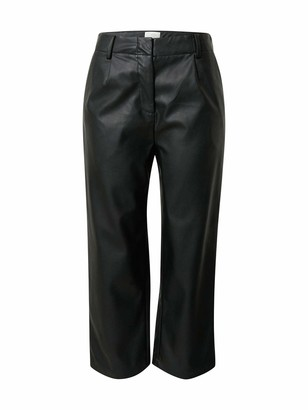 Nümph Belen PU Trousers 10 Black