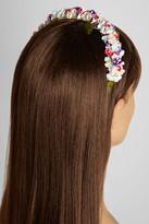Eugenia Kim Sylvie floral-embellished headband