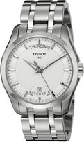 Tissot Men's T0354071103100 Couturier Day-Date Calendar Watch