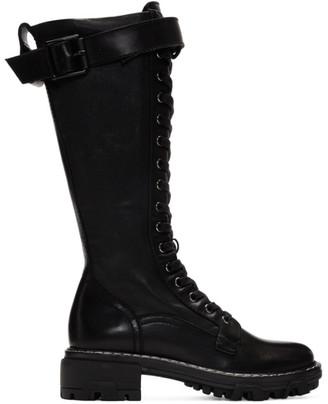 Rag & Bone Black Shiloh Tall Boots