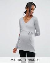 Mama Licious Mama.licious Mamalicious Maternity Fine Knit Sweater