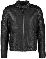Gipsy Benno Faux Leather Jacket Schwarz