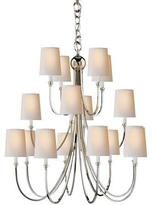 Visual Comfort Reed Extra-Large 16-Light Chandelier