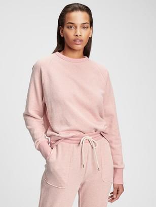 Gap Vintage Soft Marled Crewneck Sweatshirt