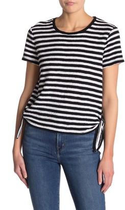 Madewell Modern Stripe Side-Tie T-Shirt