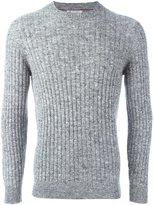 Brunello Cucinelli melange ribbed sweater