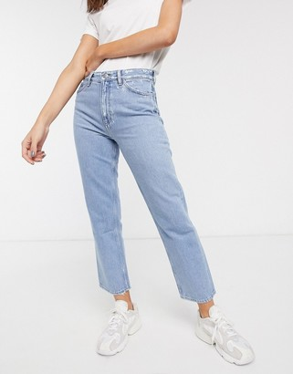 MiH Jeans straight leg jeans in blue
