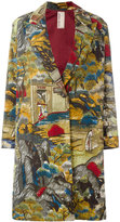 Antonio Marras landscape allover print coat